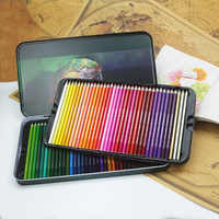 12/18/24/36/48/72 Pencil Oily Color Lead Paint Brush Water Soluble Colored Pencil Set Hand-Painted School Office Supplies