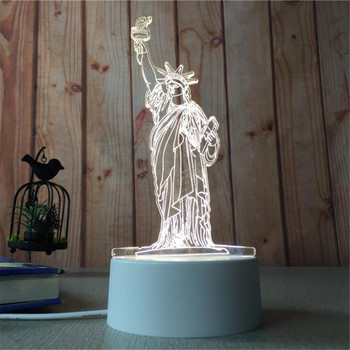 3D LED Night  Light  Creative Lamp LED Night Lights Novelty Illusion Night Lamp 3D Illusion Table Lamp For Home Decorative Light