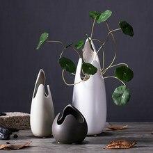 Kreatywny skorupa jajeczna ceramiczny wazon ceramiczny wazon kwiat ozdoby hydroponika dla zwierząt domowych