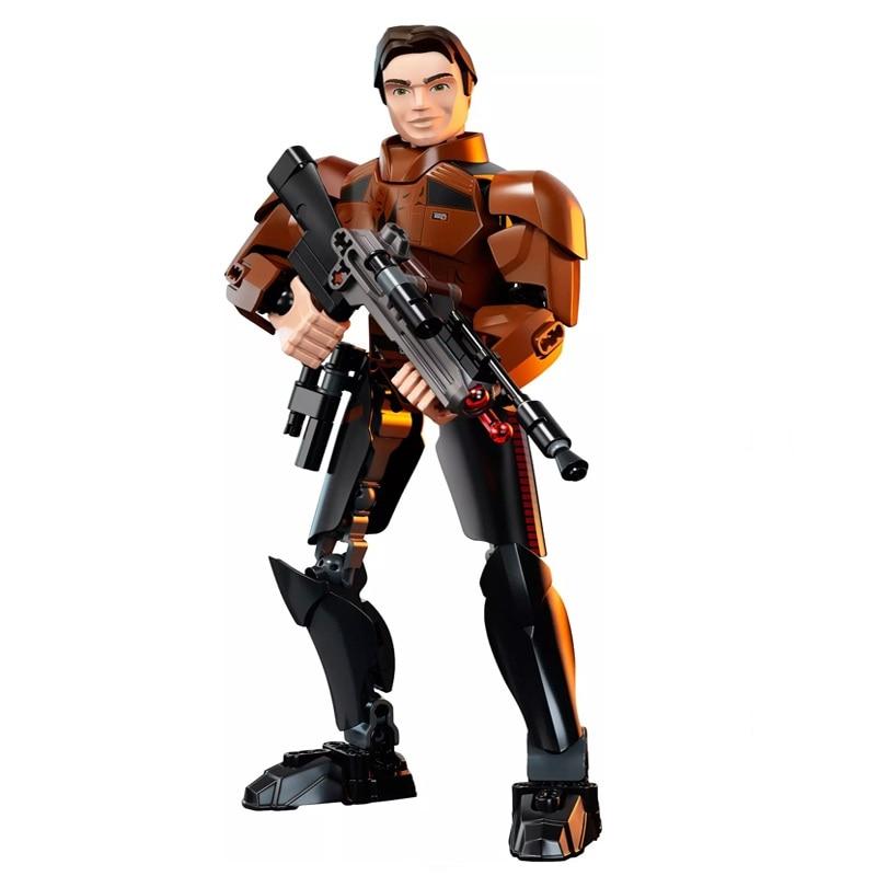 Star Wars Boba Fett Darth Maul Kylo Stormtrooper Phasma Ren Rey Vader Model Assemble Figure Construction Toys For Children 17
