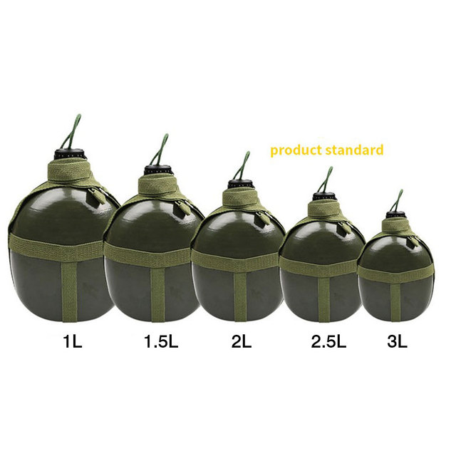 87-style Military Kettle Bottle Aluminum Convenient Large Capacity Water Bottle Canteen Kettle for Outdoor Camping Travel #W0 6