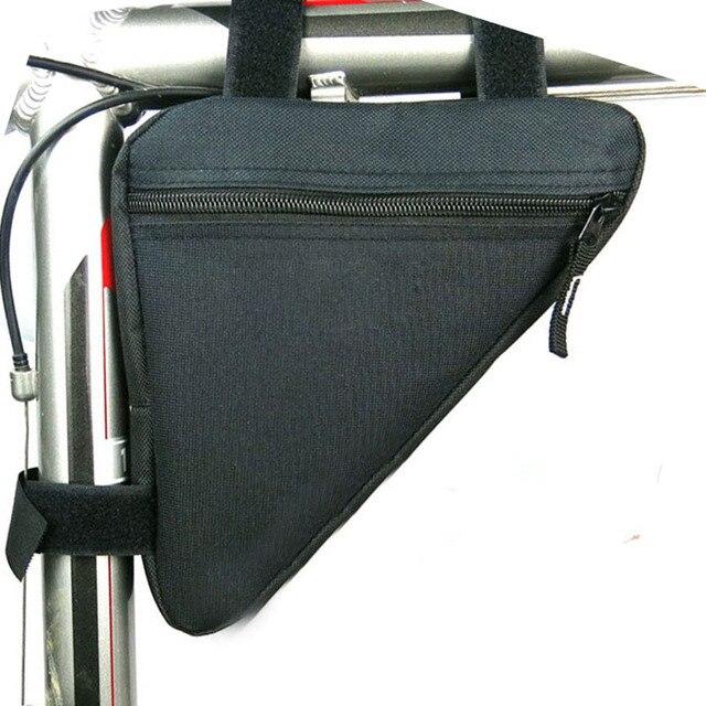Bicicleta bicicleta ciclismo saco tubo dianteiro quadro telefone à prova dwaterproof água sacos triângulo bolsa quadro titular da bicicleta acessórios 2