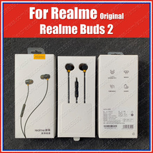 RMA155 Magnetische Controle Originele Realme Knoppen 2 Koptelefoon 3.5Mm Headset Realme X2 Pro Xt 5i 5 Pro Xt C2 Q 3 Pro X Lite Master