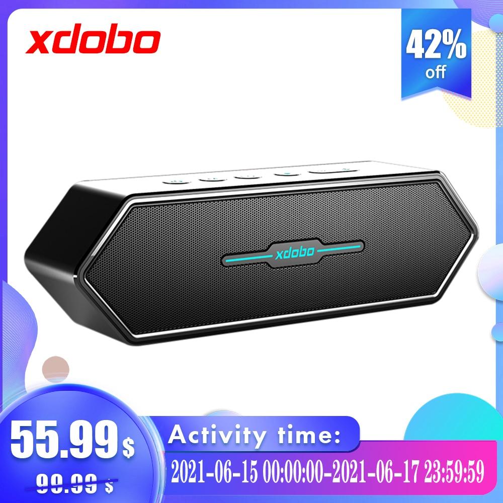 Xdobo בית קולנוע מוסיקה סאב רם חזק Bluetooth מחשב רמקול עבור טלוויזיה חזק בס אלחוטי Soundbar עם סאב