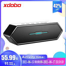 Xdobo Home Cinema Music Subwoofer Powerful Loud Bluetooth Computer Speaker For TV Strong Bass Wireless Soundbar With Subwoofer