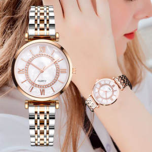 Women Bracelet Watches Diamond Ladies Top-Brand Femme Fashion Luxury Relogio Crystal