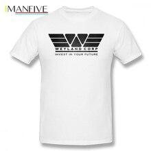 цены на Nostromo T Shirt Weyland Corporation T-Shirt Streetwear 100 Cotton Tee Shirt Graphic Man 4xl Fun Short-Sleeve Tshirt в интернет-магазинах