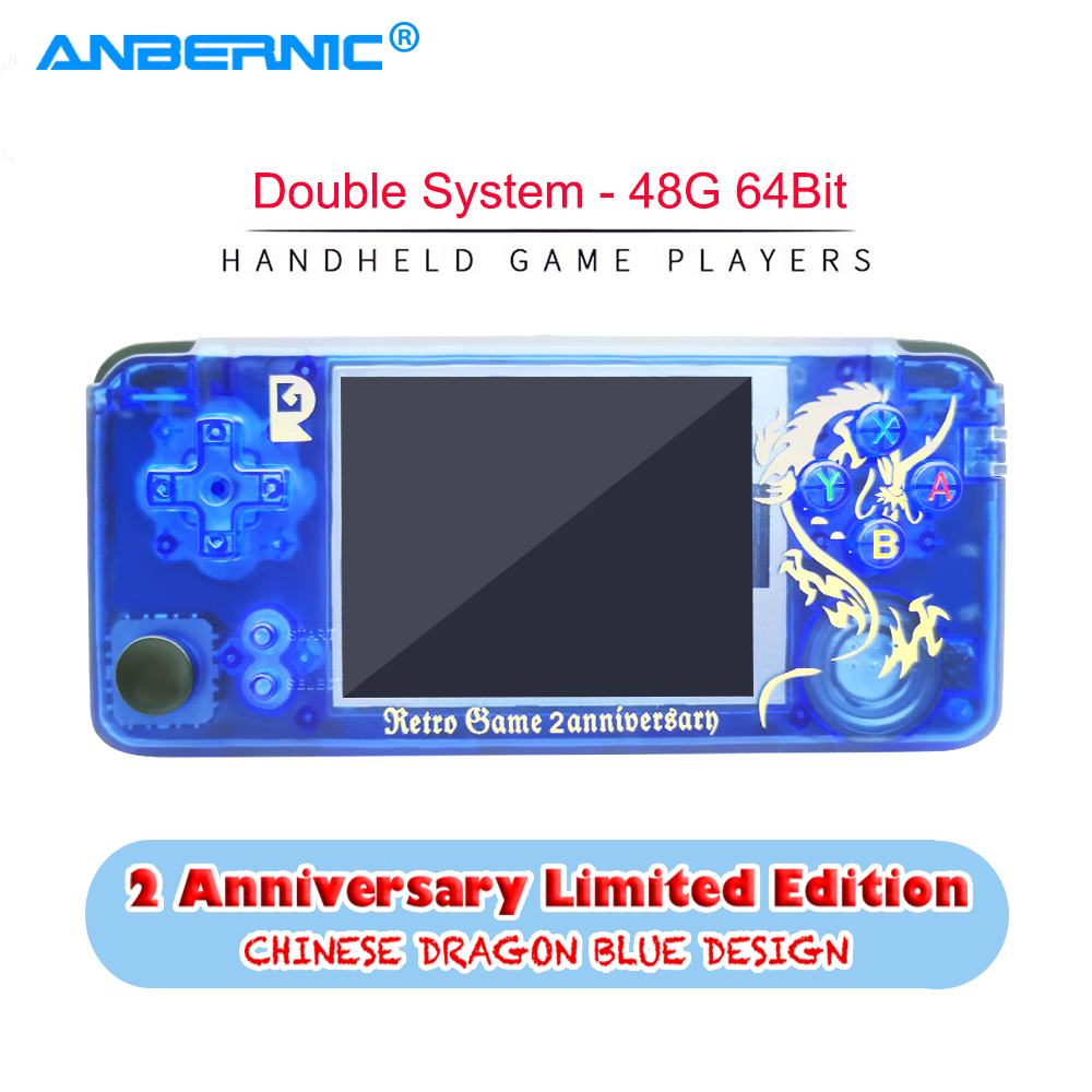 ANBERNIC RS97 Handheld Game Player Retro Game Plus 3.0 IPS Screen Video Game Console 32G TF 3000 Games Double System RGP Console