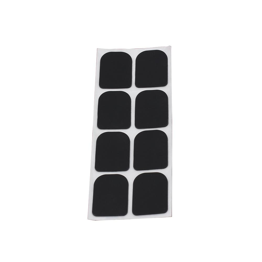 0.8mm 8pcs Alto/Tenor Saxophone Sax Clarinet Mouthpiece Patches Pads Cushions Saxophone Sax Clarinet Accessories