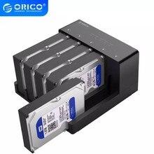 ORICO USB 3.0 HDD 5 Bay stacja dokująca narzędzie darmowy usb 3.0 do Sata futerał na dysk twardy Adapter do 2.5 3.5 Cal HDD SSD Clone Bo