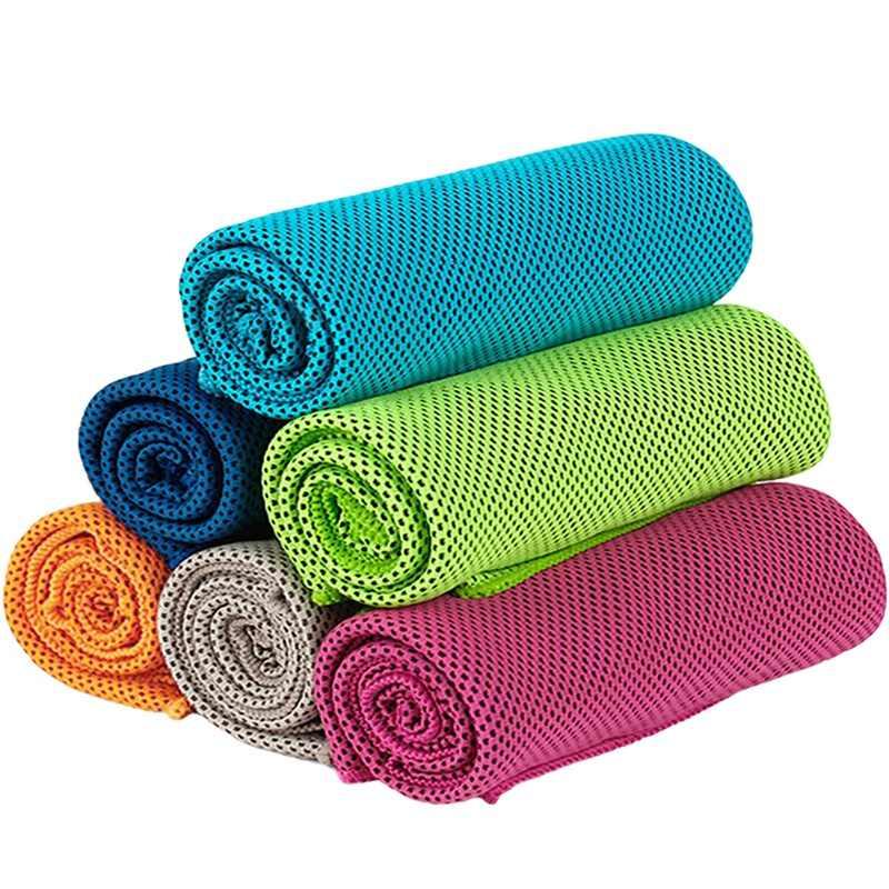 Secado r/ápido Toalla para Correr Juegos de Textiles de ba/ño Entrenamiento Deportivo wergem Toalla de enfriamiento S/úper Absorbente