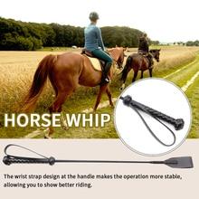 Horse-Whip Spanking Riding-Crop Black Racing Non-Slip-Handle Lightweight Professional