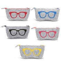Модная сумка для очков в стиле ретро, сумка для очков на молнии, многофункциональная сумка для очков