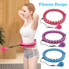 Fitness Smart Sport Hoop Adjustable Thin Waist Exercise Gym Circle ring Fitness Equipment Home Training Drop Shipping