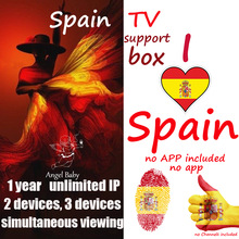 spain android box spanish tvbox support iptv with Smart tv m3u enigma2 PC Linux no Channels included no app bluetv hongkong taiwan chinese live channels video on demand iptv box