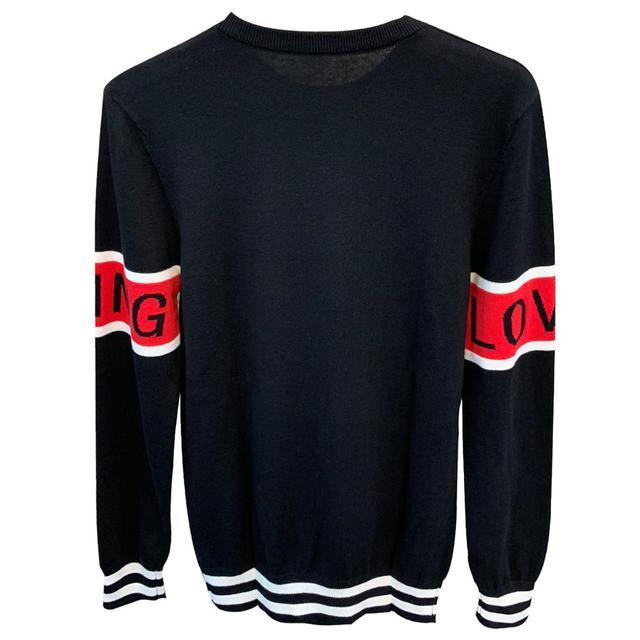 Nuevo suéter de algodón de cuello redondo primavera 1
