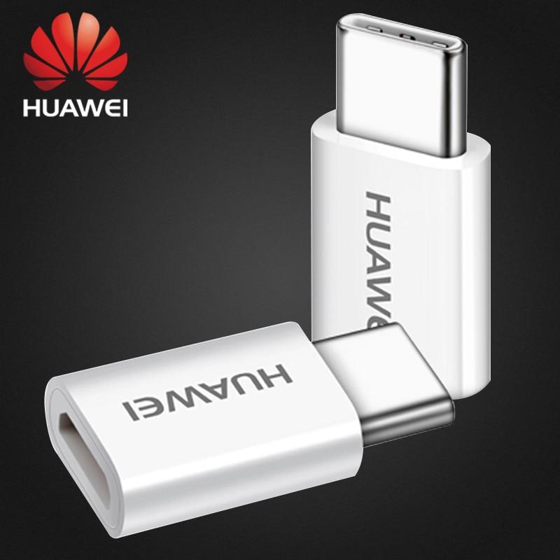 Huawei P20 Pro Huawei Micro USB To Type C Converter Type C Adapter Charging Mate10 Mate9 Pro Lite Honor V10 10 View10 Nova 3e