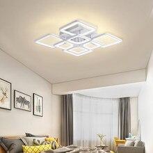 IRALAN LEDs avize ev fikstür Modern parlaklık oturma odası yatak odası mutfak ev avize beyaz aydınlatma modeli 0126