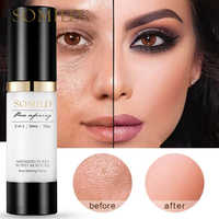 SOMILD 30ML Korean Face Primer Makeup Base Oil-Control Whitening Invisible Pore Facial Matte Make Up Foundation Primer Cosmetics
