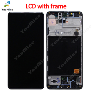 Image 3 - For Samsung Galaxy A51 LCD with frame Digitizer Sensor Assembly For Samsung A51 Display A515 A515F A515F/DS,A515FD A515FN/DS