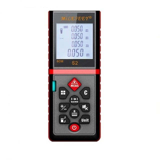 レーザー距離計電子ルーレットデジタルテープ距離計trenaメトロレーザレンジファインダ測定テープ