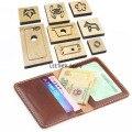 Neue Japan Stahl Klinge Regel Gestanzt Schlag Brieftasche karte tasche Schneiden Form Holz Stirbt für Leder Cutter für Leder handwerk