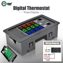 4-Bit 0,28 светодиодный LED цифровой измеритель мощности Вольтметр Амперметр детектор Вольт Панель монитор тестер напряжения тока 100V 10A 1000W