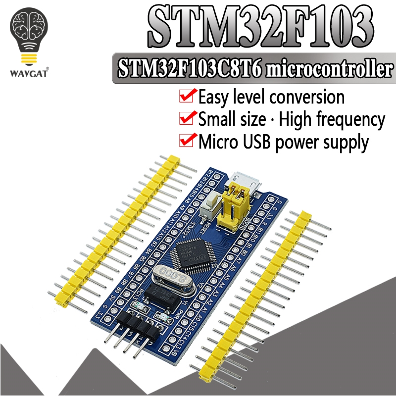Free Shipping STM32F103C8T6 ARM STM32 Minimum System Development Board Module For Arduino 32F103C8T6