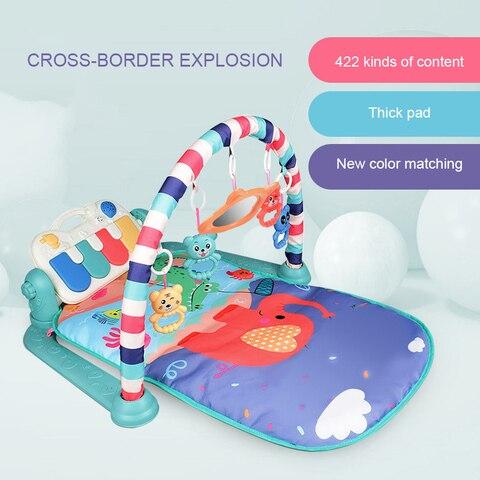 bebe pedal de piano fitness suporte desenvolver mao olho coordenacao multifuncional plastico musica pedal piano