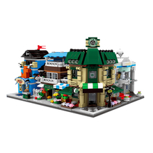 City Series Streetscape Xingbao 01105 Building Blocks Coffee Shop/wedding Shop/flower Shop/pet Shop Bricks Toys