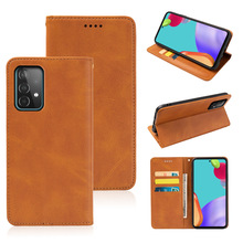 For Samsung Galaxy A52 5G Card Holder Wallet Flip Leather Kickstand Shockproof Protective Case Funda For Galaxy A52 5G