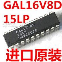 10pcs/lot GAL16V8D GAL16V8D-15LP GAL16V8D-15LPN DIP20