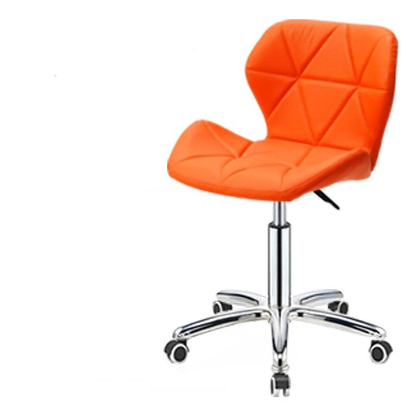 Bar Chair Fashion Creative   Household Backrest High-legged  Lift  Stool Beauty Nail