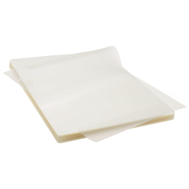 HOT-70 Mic A4 Thermal Laminating Pouches 220Mmx307Mm Clear EVA PET Laminating Film/Sheets For Photo Paper Files Card 100 Pcs/Pac