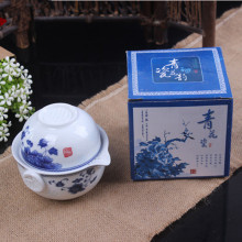 Китайский хороший продукт Kuaikebei чайный набор кунг-фу включает в себя 1 горшок 1 чашка высокого качества элегантный Gaiwan красивый и легкий чайник