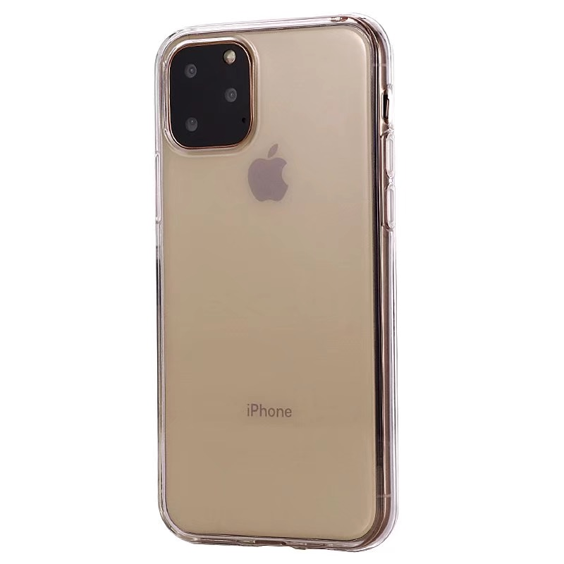 Comanke Transparent Candy Color Silicone Cases for iPhone 11/11 Pro/11 Pro Max 36