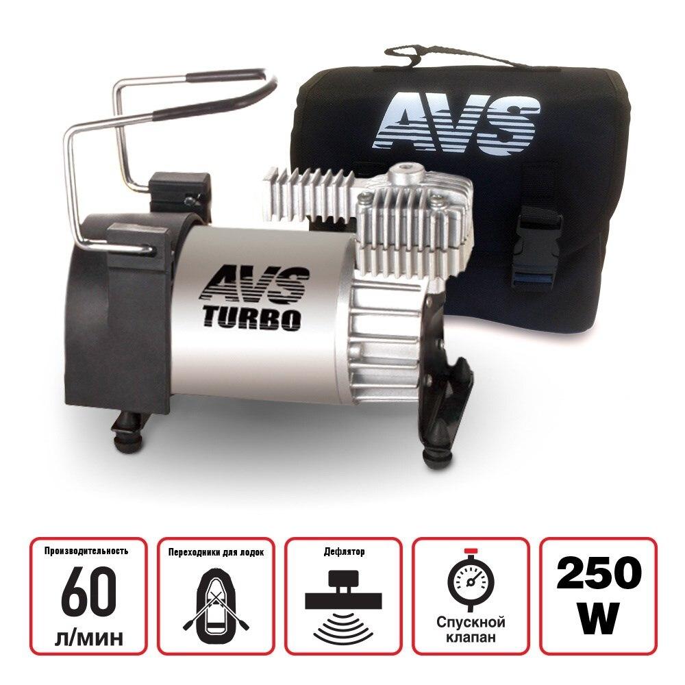 Компрессор автомобильный 60 л/мин AVS KS600