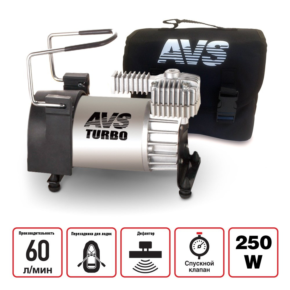 Compressor Car 60 L/min AVS KS600 Car Air Compressor For Car Motorcycle Bike