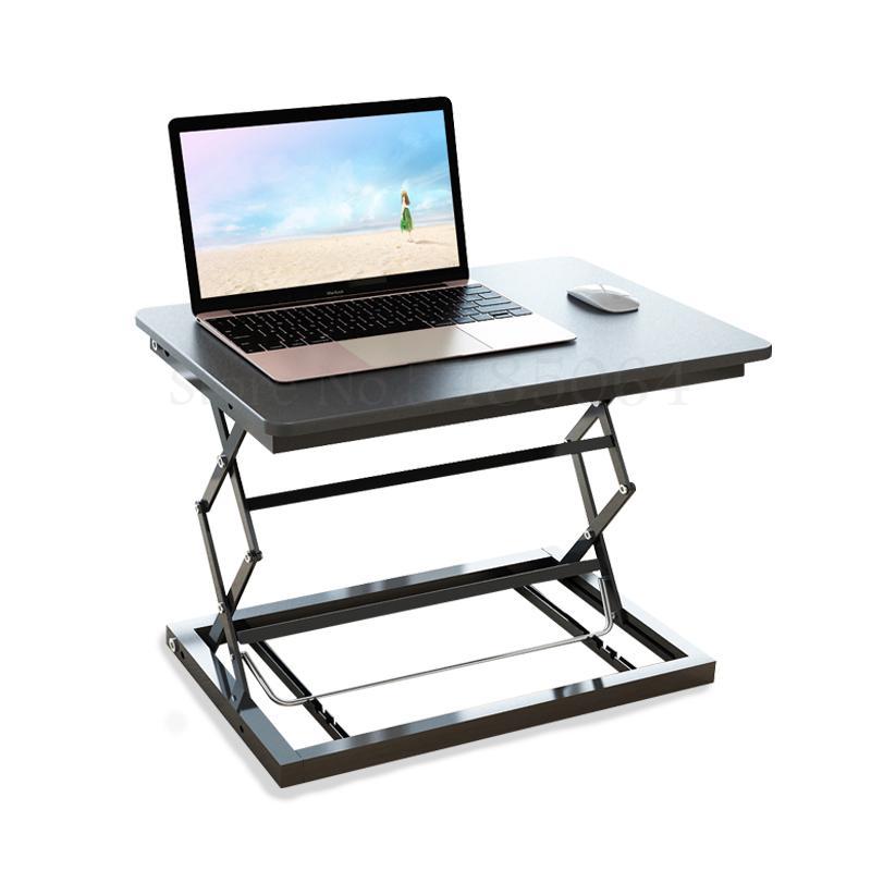 Подъемная стойка для ноутбука, подъемная стойка, переносной рабочий стол, удлиняющая Складная стойка, Офисная полка