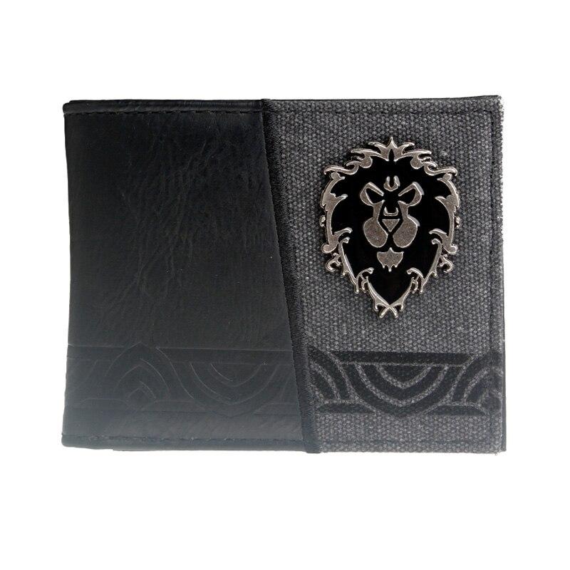 World Of Warcraft  For The Horde Men Wallet Women Purse  Dft3181