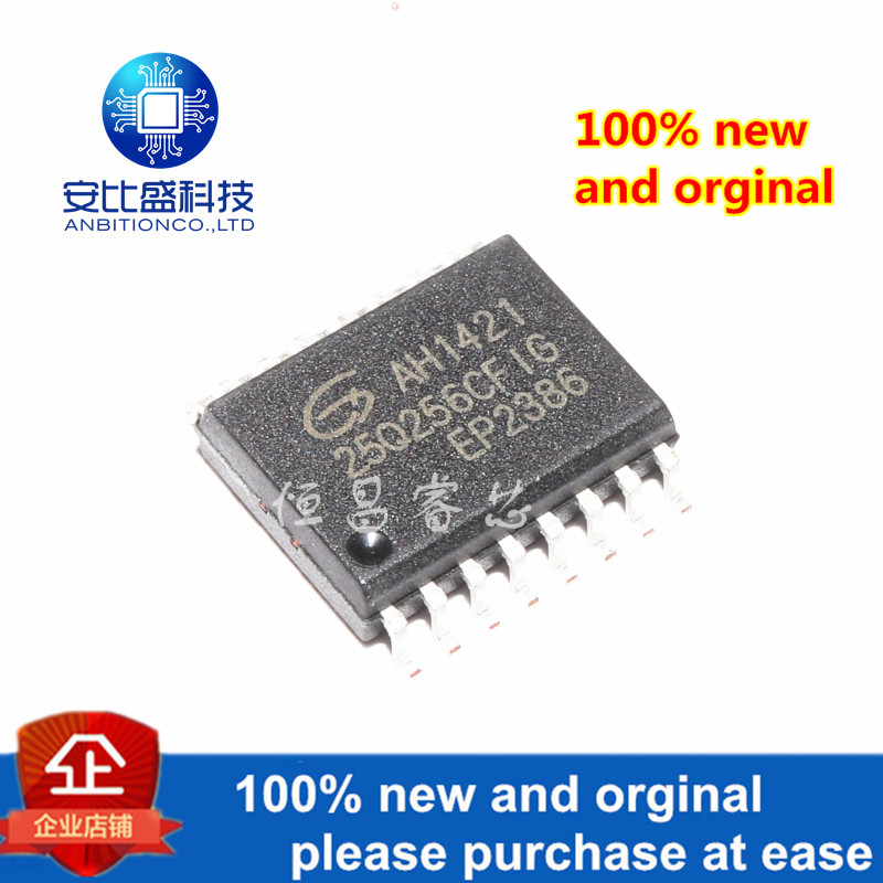 1pcs 100% New And Orginal GD25Q256CFIG Silk-screen 25Q256CFIG 256Mbit SOP16 In Stock