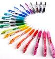 Pack von 20 Verschiedene Farben Stift Japan Zebra SARASA JJ15 Saft Farbe Gel Clip Stifte Farbe Marker Kugelschreiber Stift 0 5mm 20 Farben auf