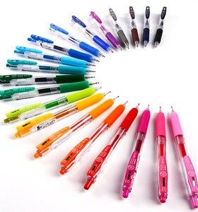 Image 1 - Pacote de 20 cores sortidas caneta japão zebra sarasa jj15 suco cor gel clipe canetas marcador de cor caneta esferográfica 0.5mm 20 cores