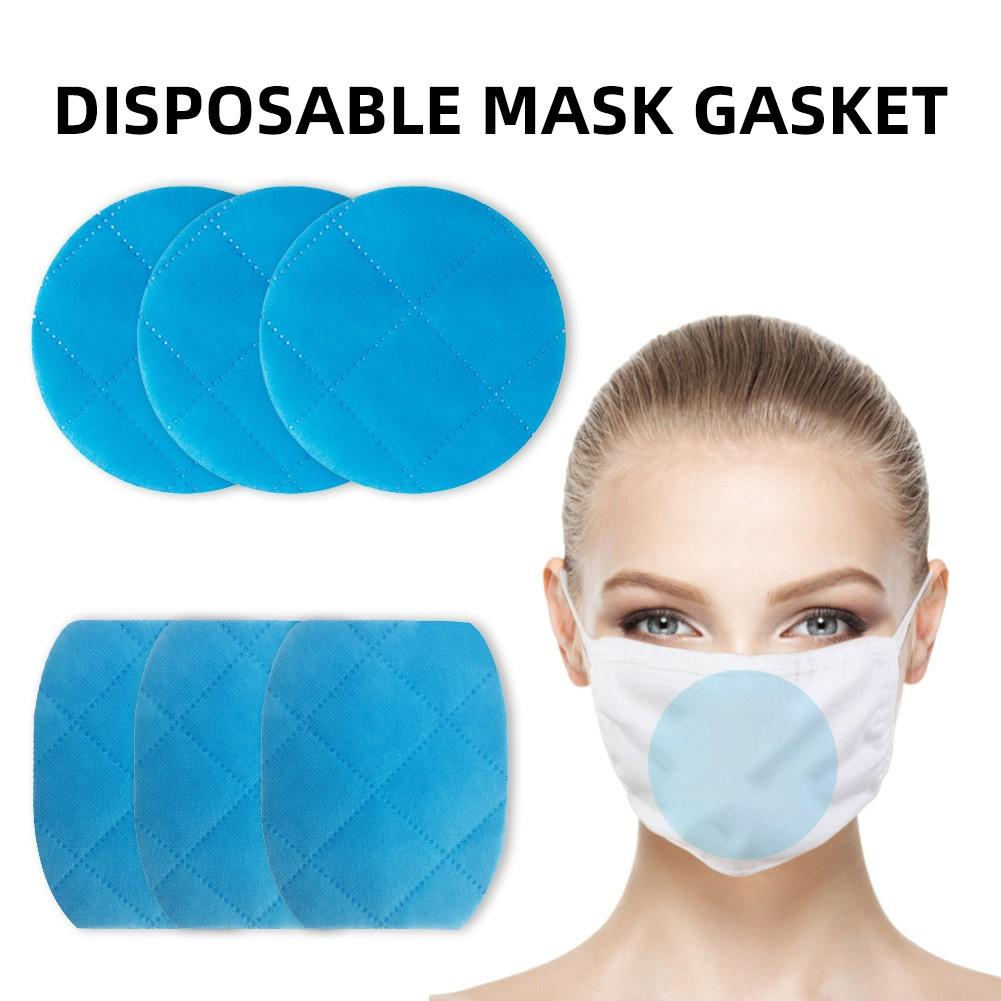 20Pcs Dust Proof Breathable Disposable Replace Inner Pads Filter For Mouth Mask 94% Filtration Mouth Mask DustProof Breathable