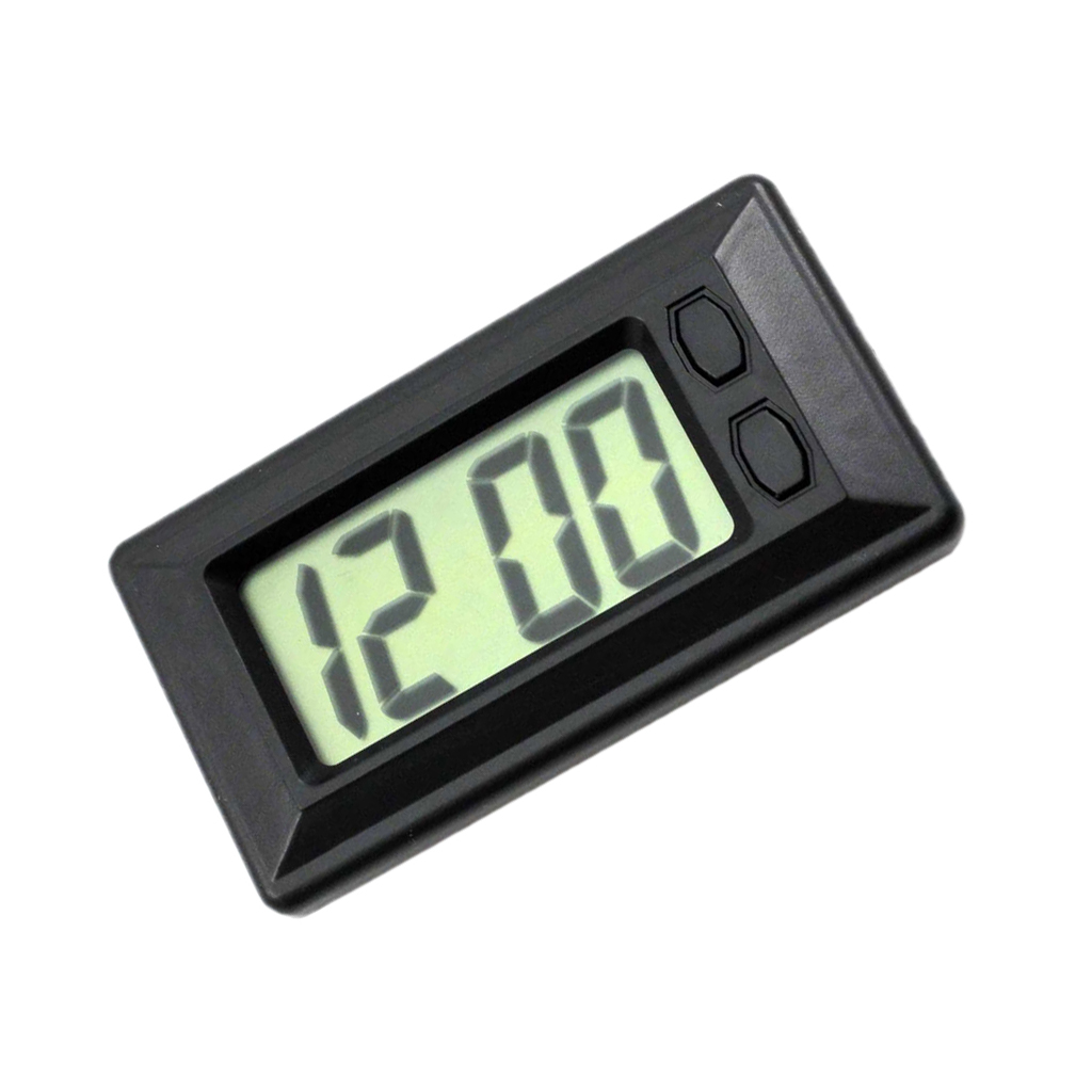 Car Electronic Clock Auto Mini LCD Digital Clock For Dashboard Car Accessories