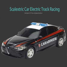 Slot Car For Scalextric 1/43 Electric Track Racing Race Remote Control Car 1/43 Electric Rail Car
