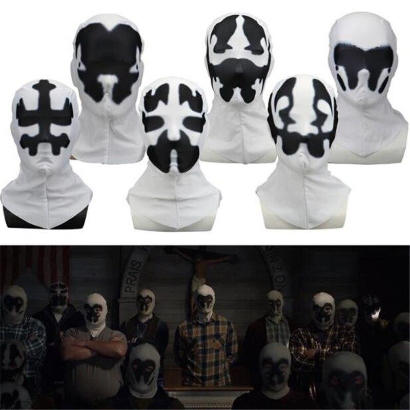Film Television Periphery DC Watchmen Rorschach Walter Kovacs Mask Halloween Masquerade Cosplay Prop Accessories Headgear Mask
