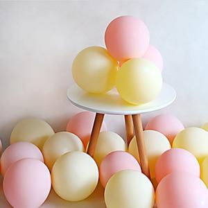 Image 4 - 20pcs Macaron Balloon 1st Happy Birthday Decorations First Birthday Boy Girl Party Kids Adult Baby One Year Birthday Decor 21 40