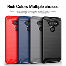 New Carbon Fiber Case for LG G6 G7 Plus G8X G8 G8S ThinQ V50 Case V30 V30S V40 V50S Stylo 4 5 W10 W30 Cover Soft Silicone Cases on AliExpress
