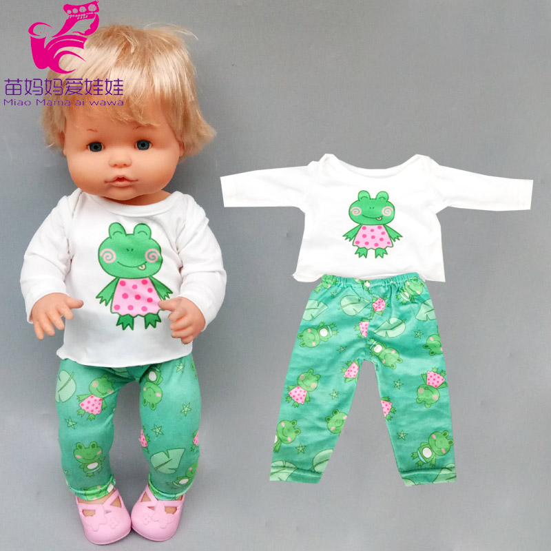 16 Inch Baby Doll Clothing For 40cm Nenuco Wears Ropa Y Su Hermanita Doll Clothes Accessories